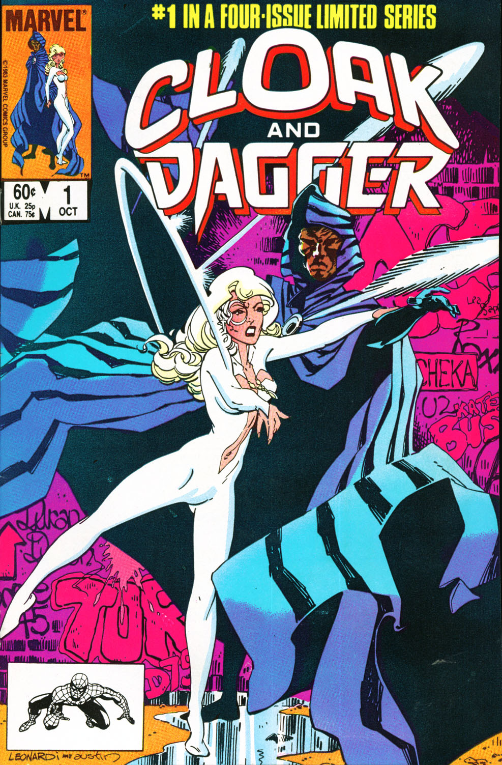 Reviews of Old Comics: Cloak and Dagger #1