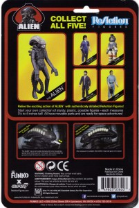 Reaction Alien Cardback