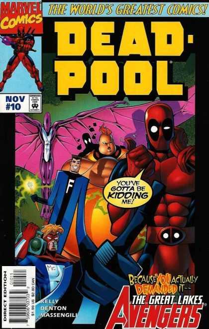 Deadpool Comic Series 1 Gallery