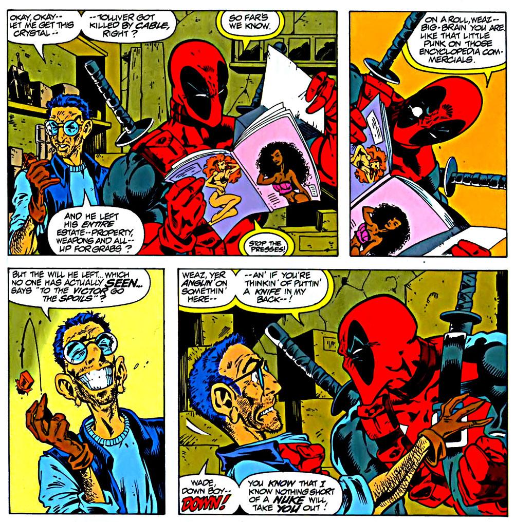 Reviews of Old Comics: Deadpool #1
