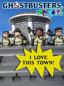Ghostbusters Minimates Love This Town 023 Title