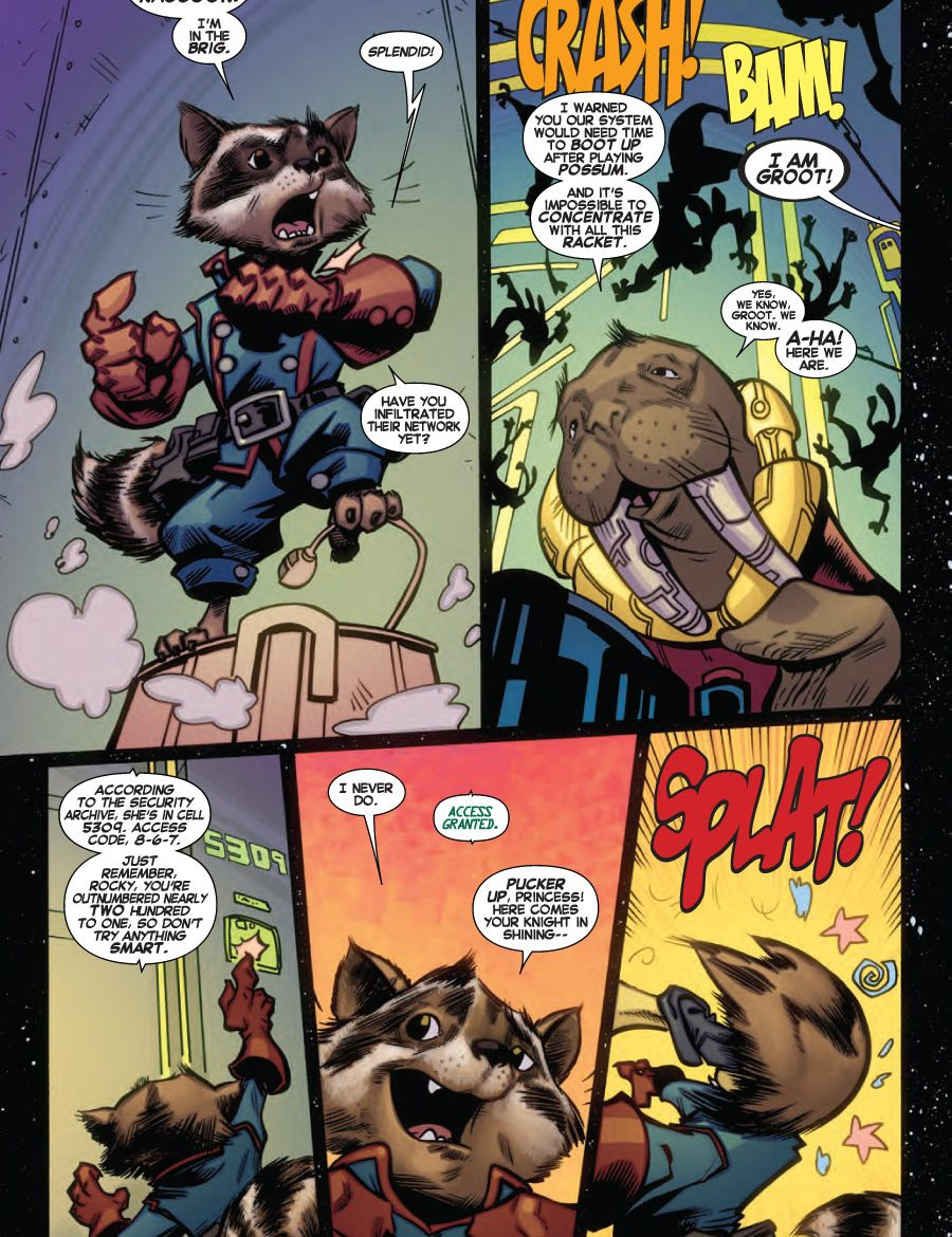 Free Comic Book Day Preview: ROCKET RACCOON