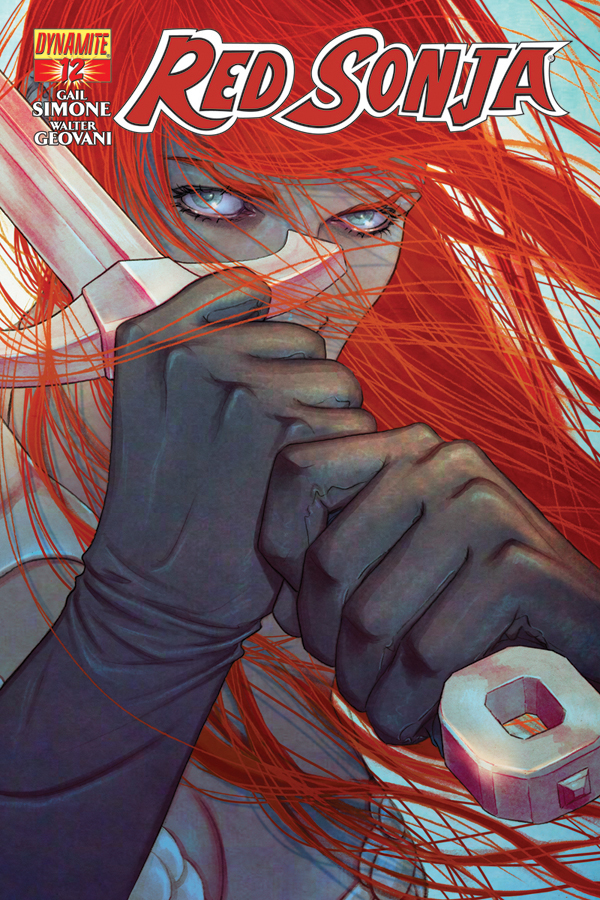 GAIL SIMONE SEES RED! SONJA THAT IS!