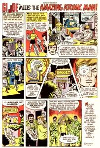 1975 Atomic Man Comic Ad
