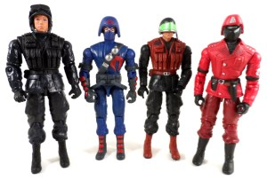 GI Joe 50th 28 DTC Figures