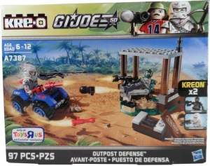 GI Joe Kreo Outpost Defense 01 Box