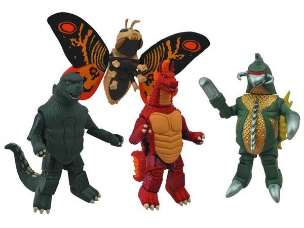 Godzilla Minimates Series 01 Box Set
