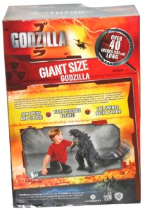 Giant Godzilla 02 Box Back