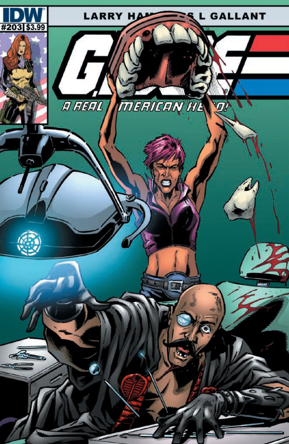 G.I. Joe: A Real American Hero #203 Preview