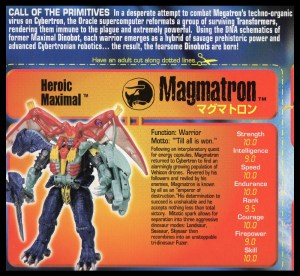 Magmatron 17 Bio