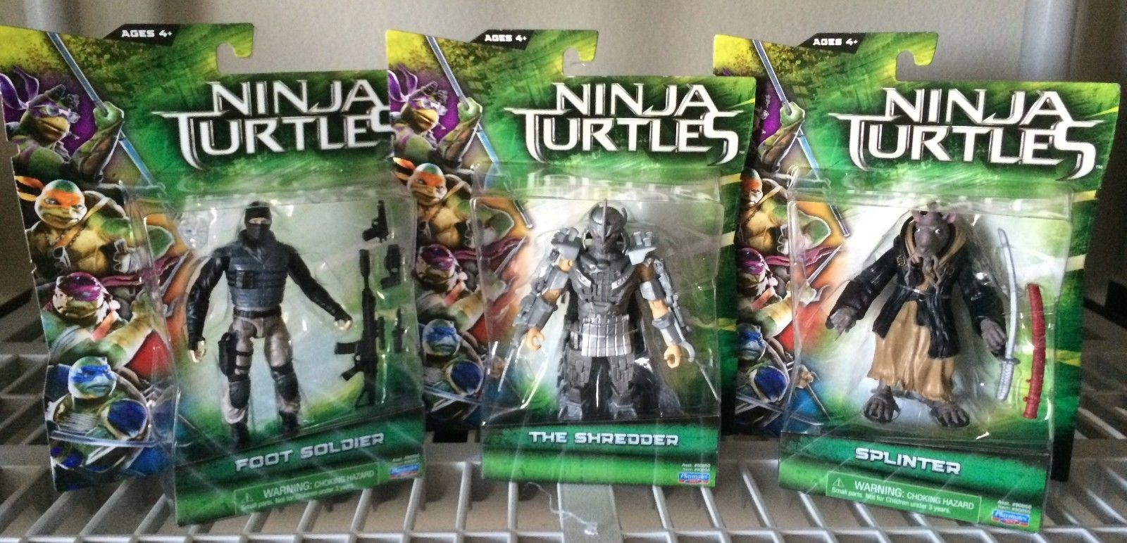 teenage mutant ninja turtles 2014 movie toys new images