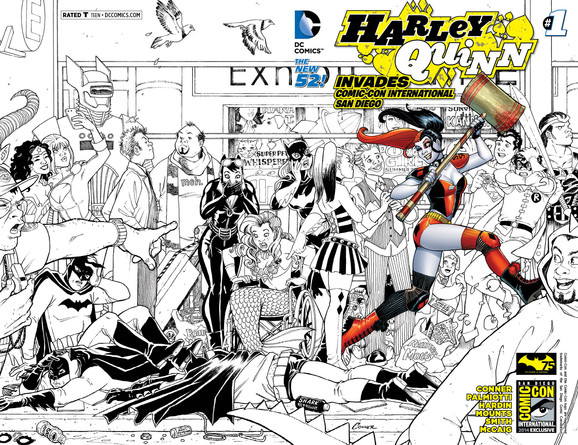 Announcing DC Entertainment's SDCC Variant Cover Exclusives