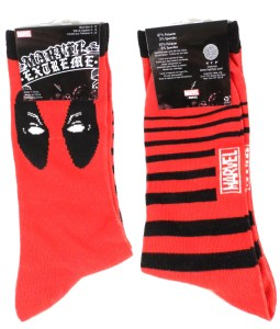 July Loot Crate 03 Deadpool Socks