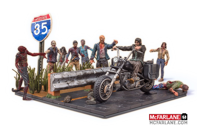 Breaking News! McFarlane Toys Launching The Walking Dead Building Block Sets