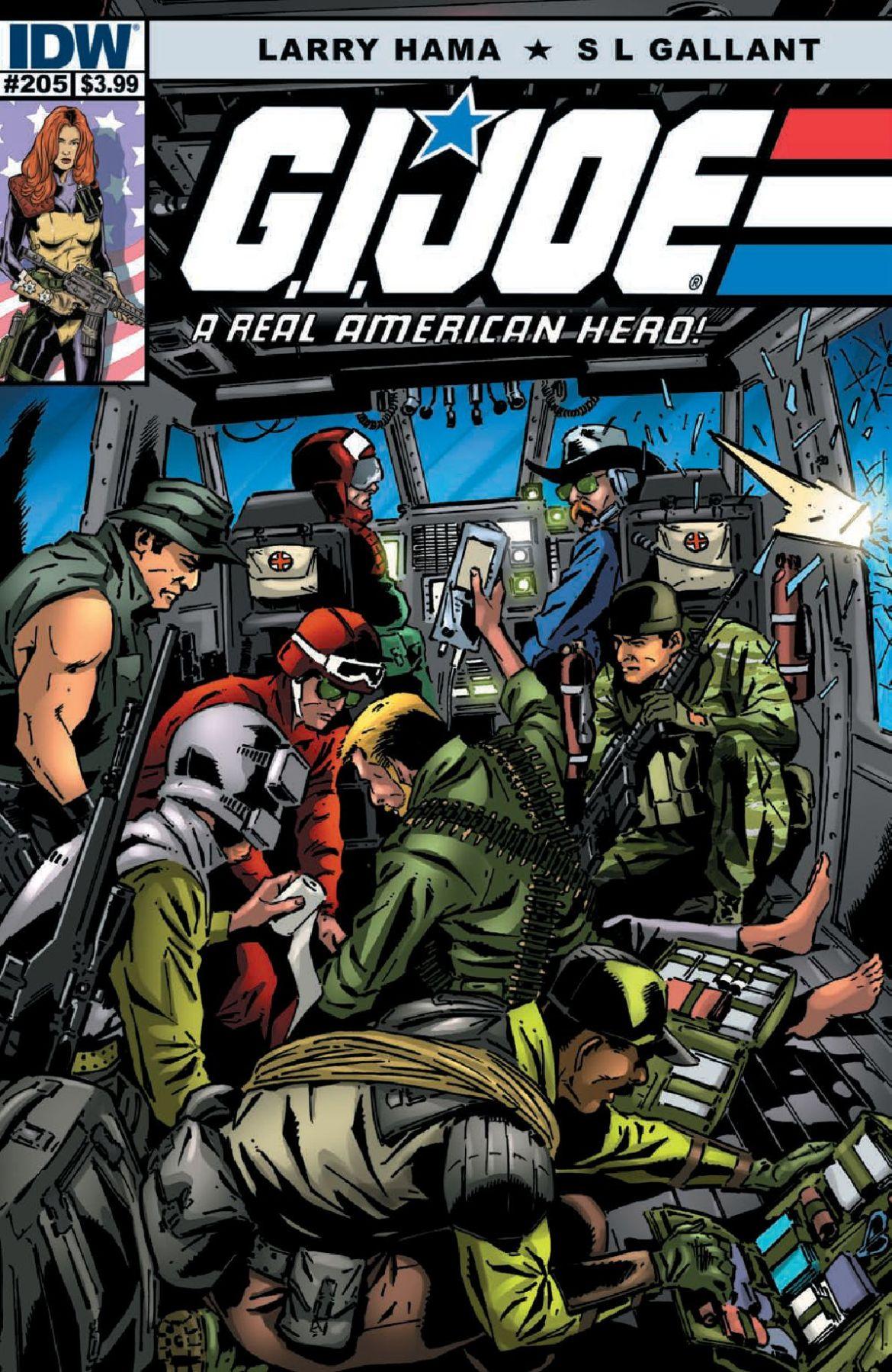 GI Joe A Real American Hero #205 Preview