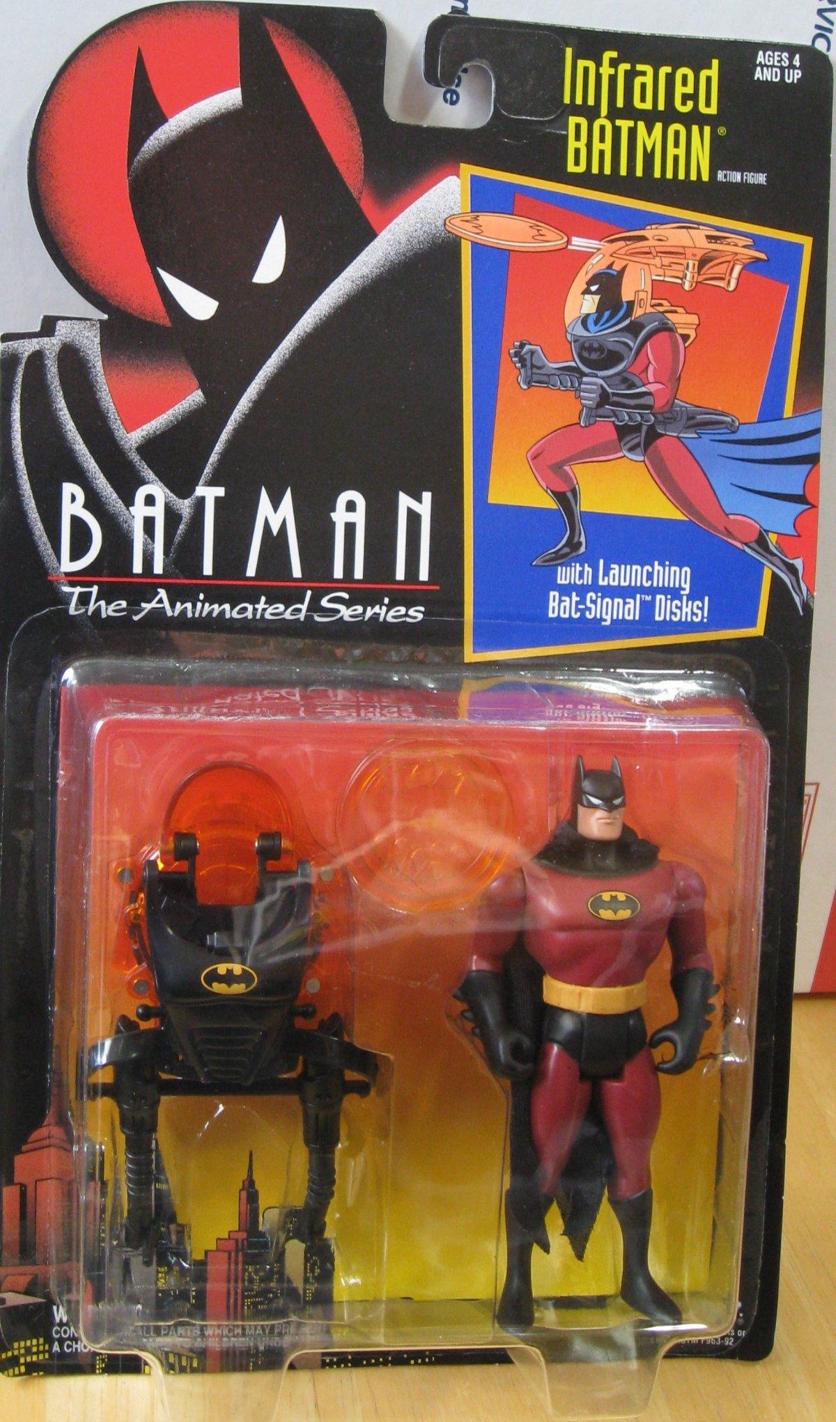 Batman Bin Batman Animated Series Infrared Batman on Killer Croc Action Figure