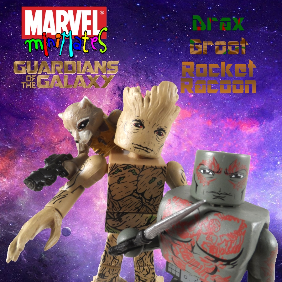 Drax & Groot Minimate Review