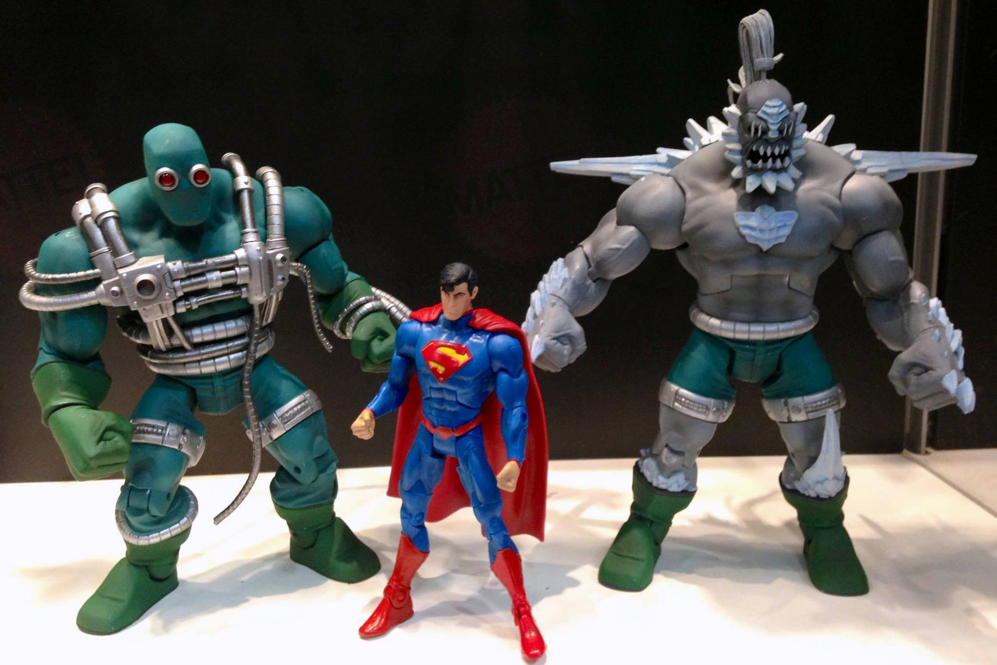 Dc Universe Classics Unleashed Doomsday Figure Is A Go