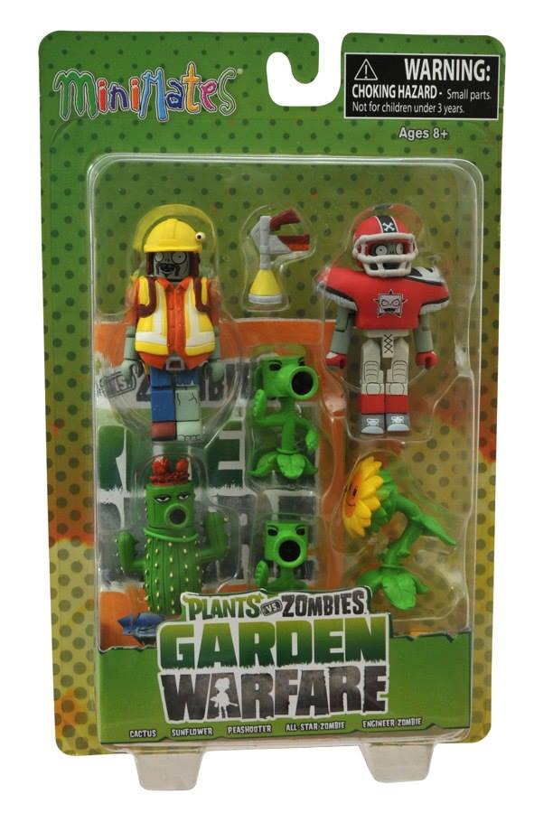 Plants Vs Zombies Garden Warfare Minimates Series 1and 2 Needless Essentials Online