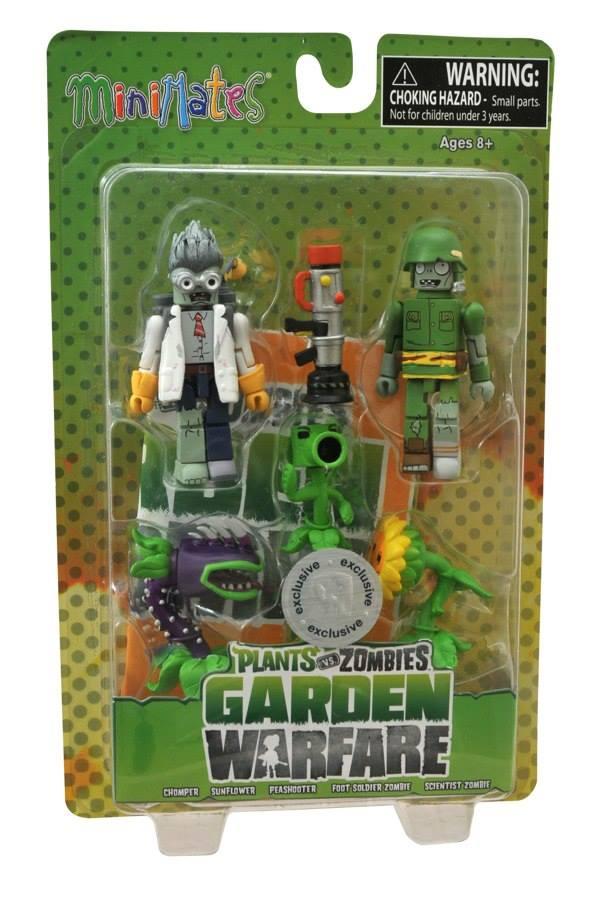 Plants Vs. Zombies: Garden Warfare Minimates Series 1and 2 ...