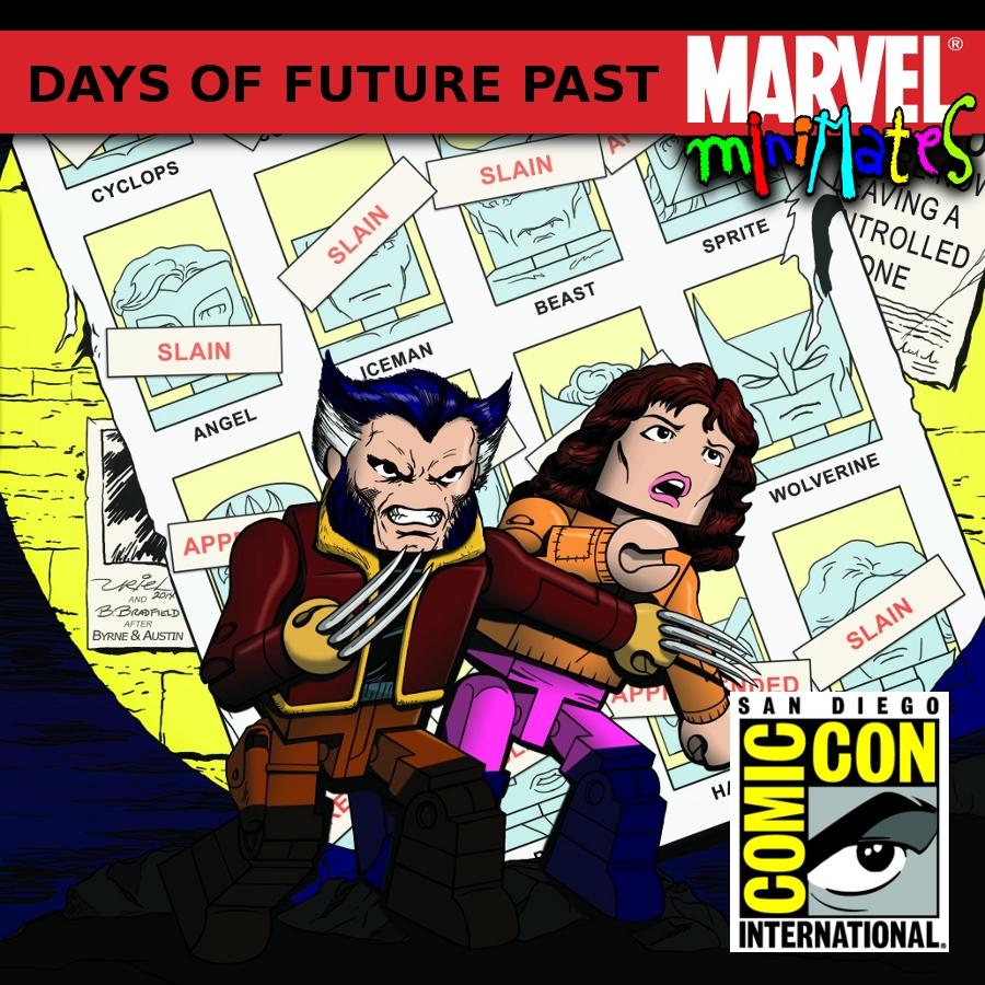 SDCC Days of Future Past Minimate Set