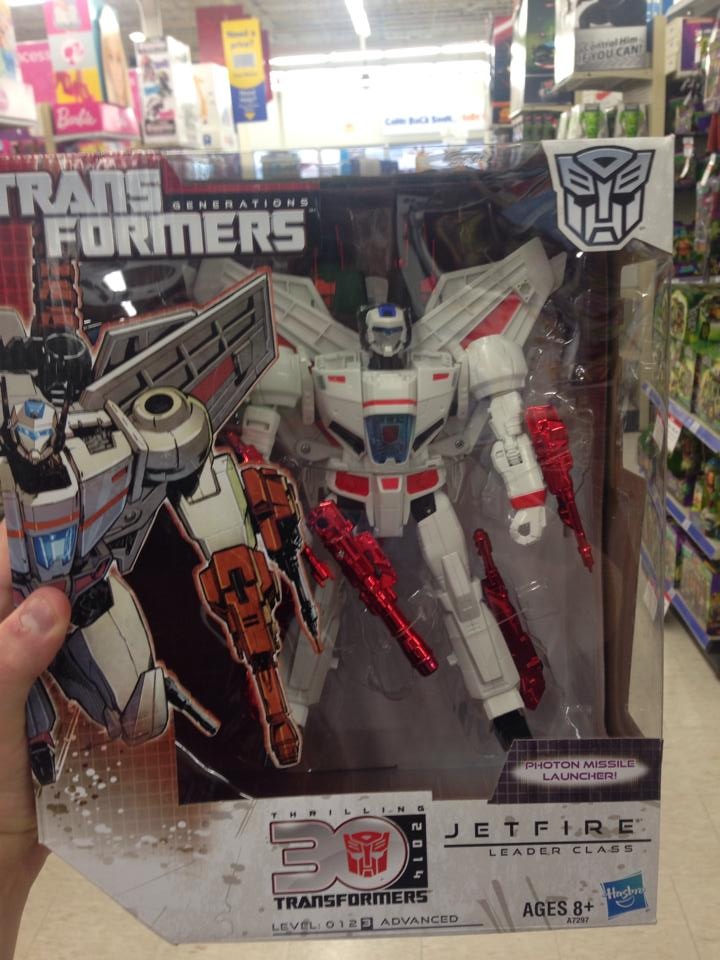 Hasbro's New Jetfire Found at Retail??