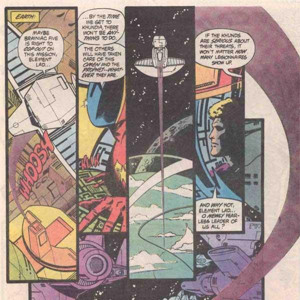 Reviews of Old Comics: Legion of Super-Heroes #310