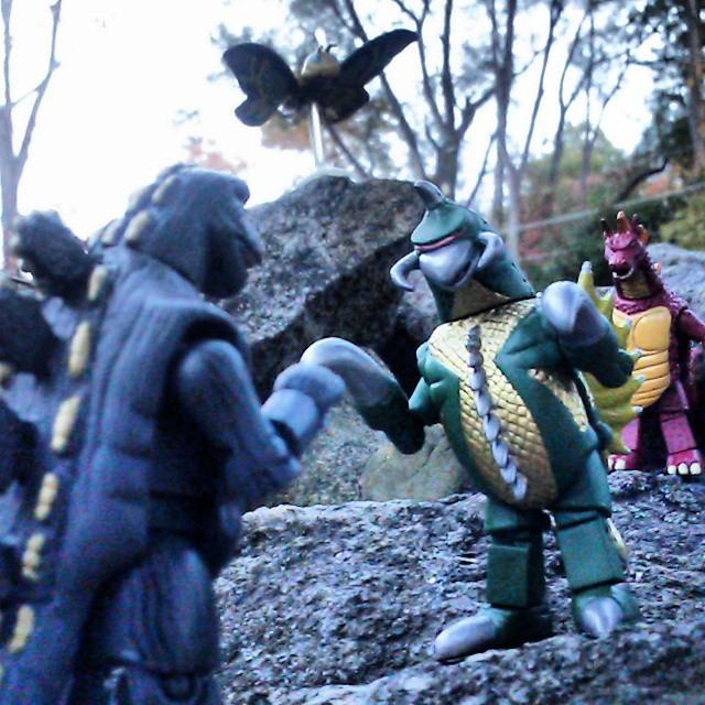 New Godzilla Minimates Available October 29th