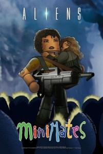 Aliens-Minimates-Poster