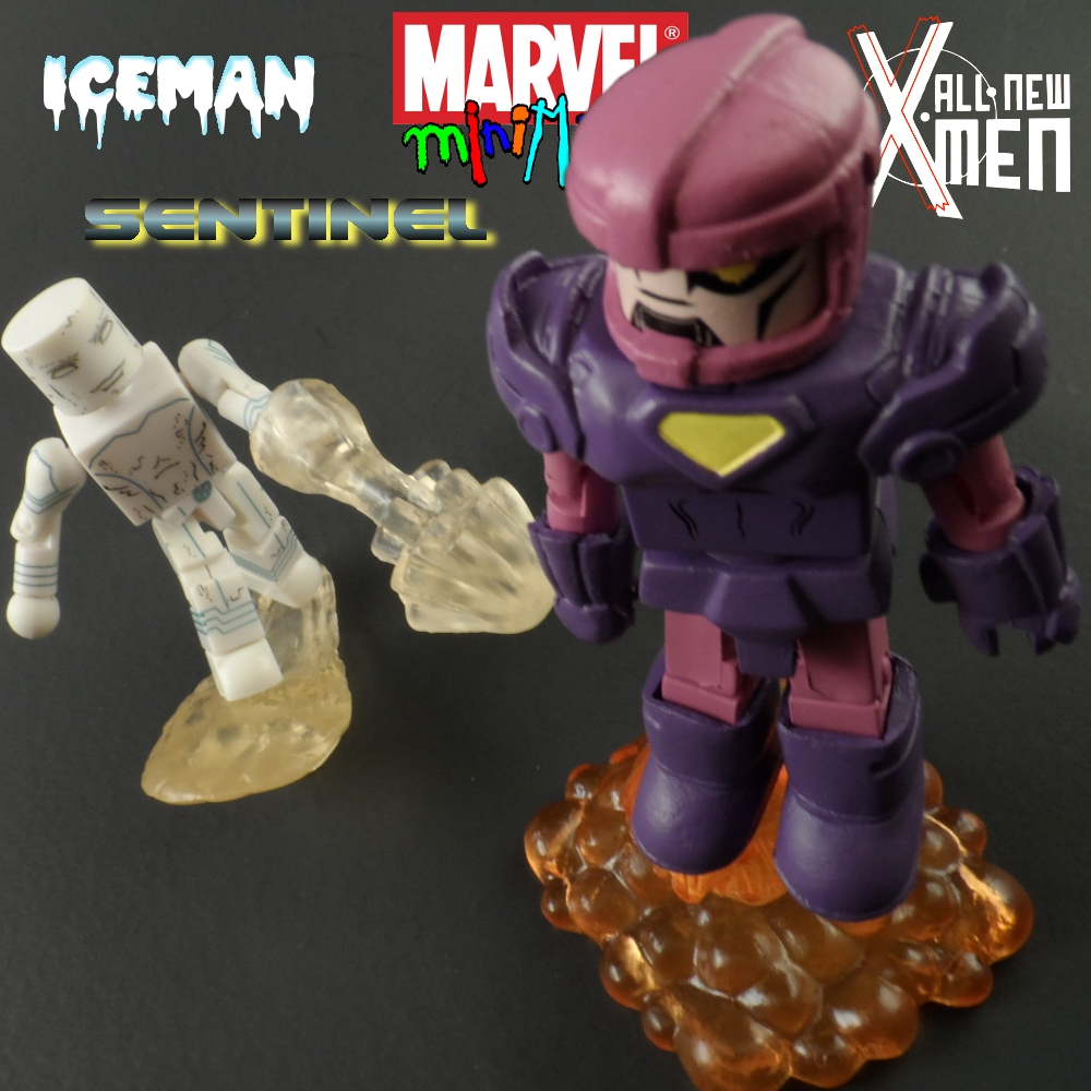 All New X-Men Minimates Iceman & Sentinel Review