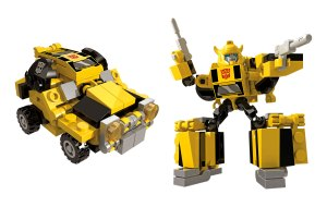 KRE-O TRANSFORMERS KREON BATTLE CHANGERS wv1 Bumblebee