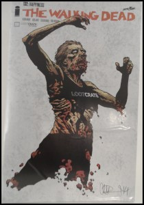October Lootcrate 13 Walking Dead Variant Cover
