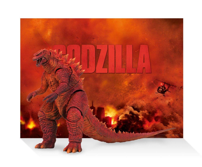 Amazon Japan Exclusive SH Monsterarts Godzilla 2014 with Blu-Ray 5 Disk Set