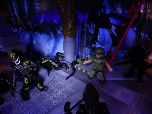 Aliens Minimates 32 Action Alternate