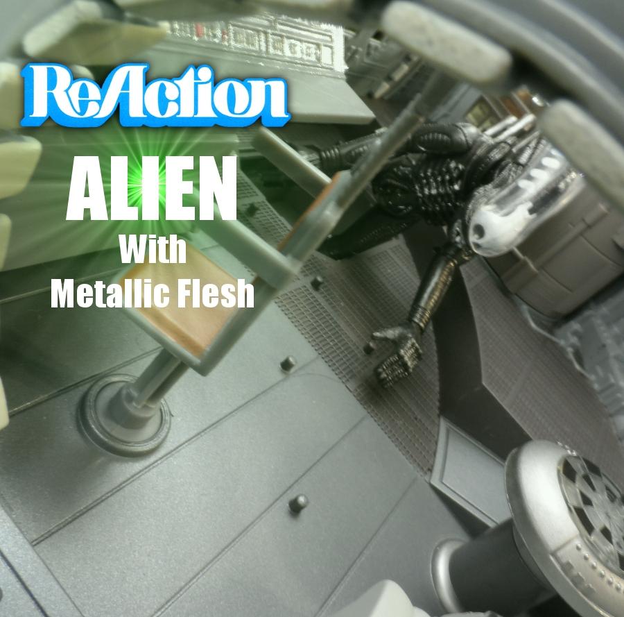 Reaction Alien with Metallic Flesh Review