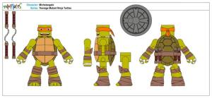 Teenage Mutant Ninja Turtles Minimates (3)