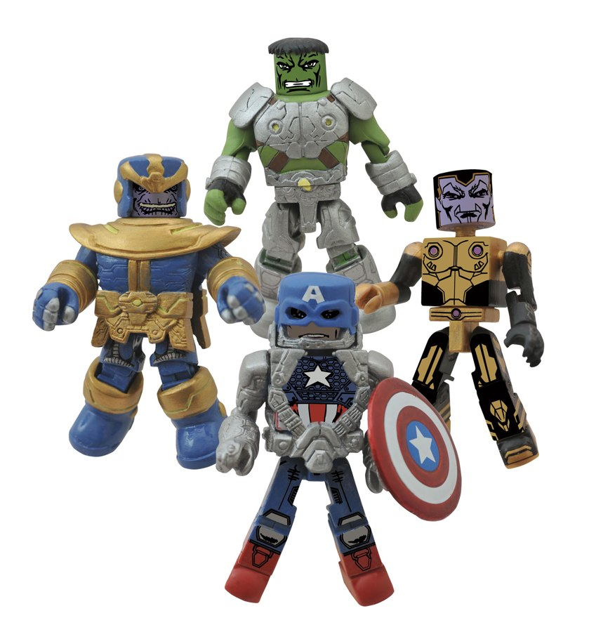 DST Reveals Marvel Minimates Infinity Fan Poll Winners!!