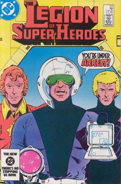 Reviews Of Old Comics: Legion Of Super-Heroes #312