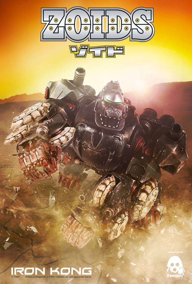 Threezero Revealed a Zoids Iron Kong!