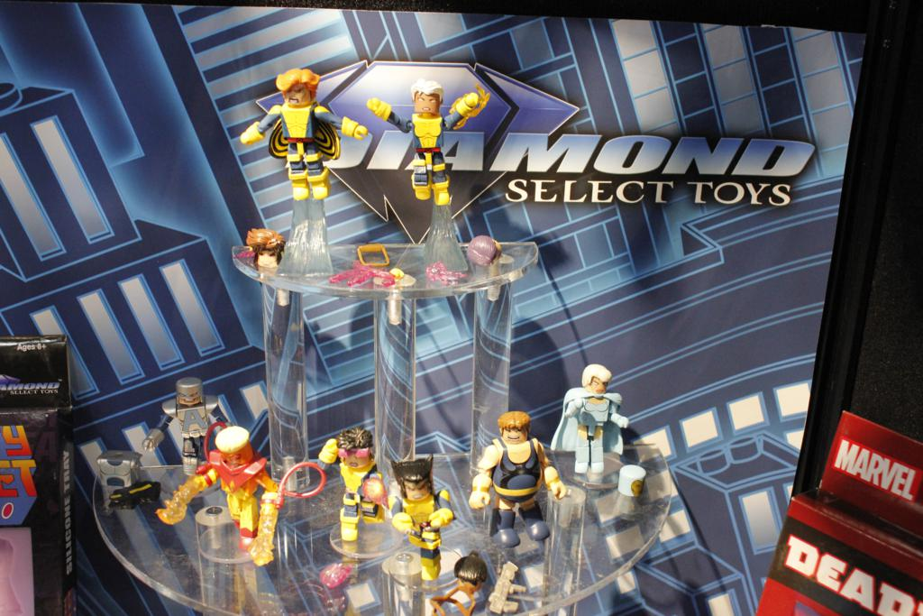 DST Toy Fair 2015! New Minimates, Select and More!