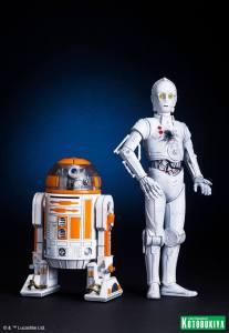 Star Wars R3-A2 & K-3PO ARTFX (1)