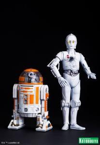 Star Wars R3-A2 & K-3PO ARTFX (2)