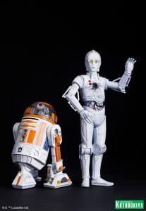 Star Wars R3-A2 & K-3PO ARTFX (3)