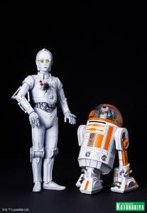 Star Wars R3-A2 & K-3PO ARTFX (5)