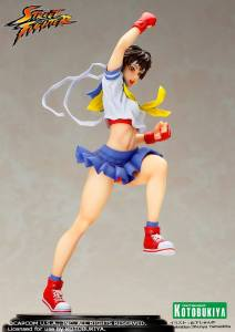 Street Fighter Sakura Bishoujo Statue (2)