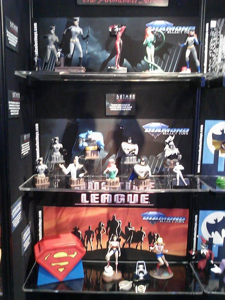 Diamond Select Toys Toy Fair 2015 Booth Sneak Peek