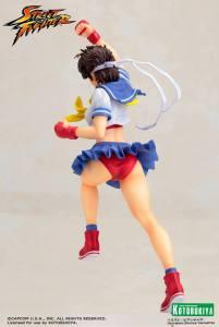 Street Fighter Sakura Bishoujo Statue (7)