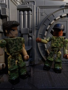Aliens Minimates Hicks Ripley 13
