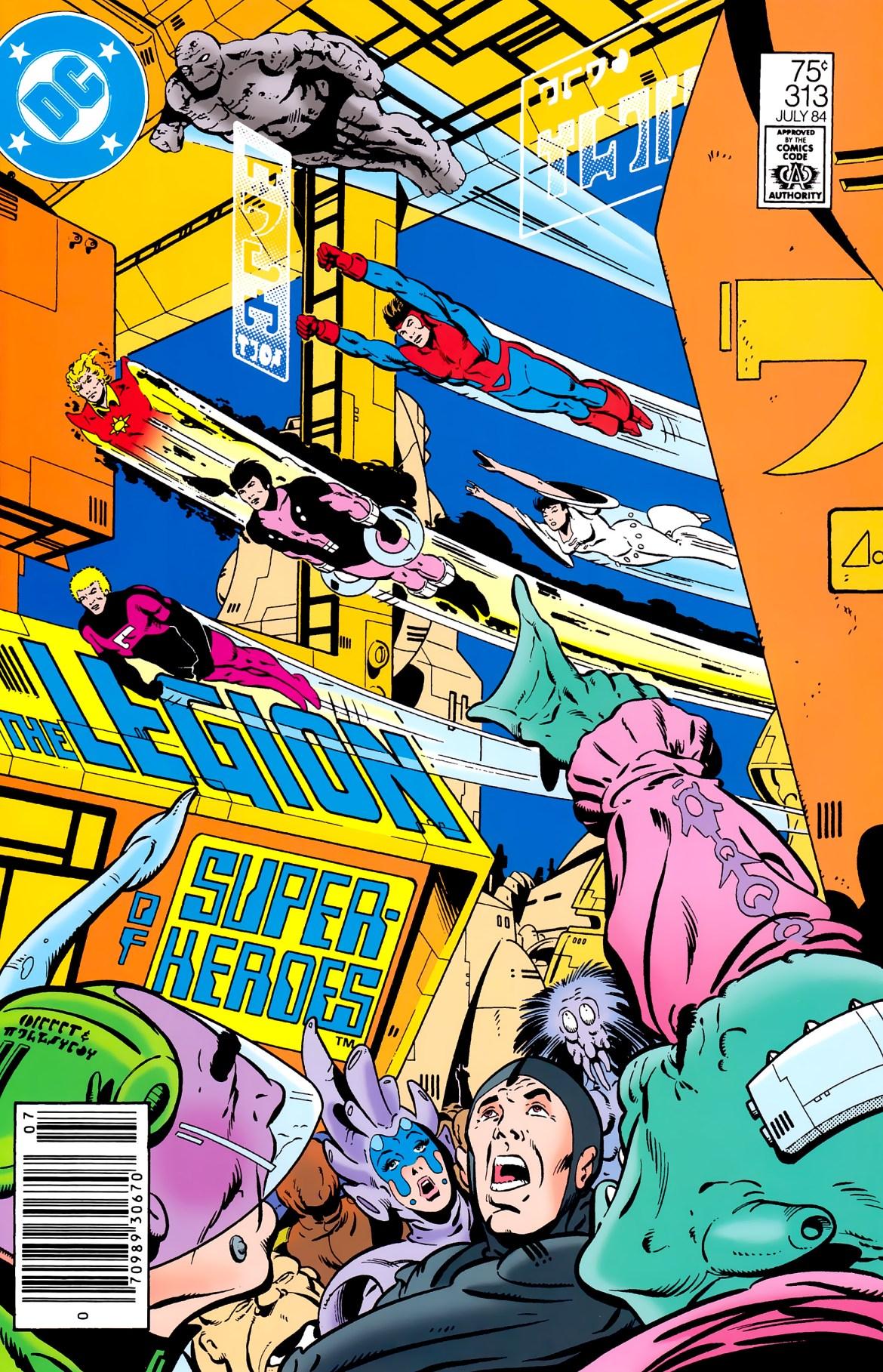 Reviews Of Old Comics: Legion Of Super-Heroes #313