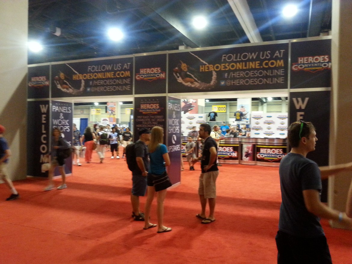 HeroesCon 2015 Report and Pictures